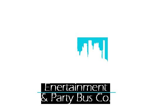 bus logo white